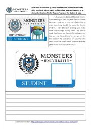 Monsters University- A new monster is coming!
