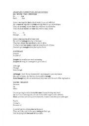connectors in english grammar pdf
