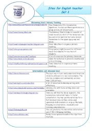 sites for English teacher