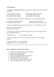 English Worksheet: NOUN PHRASES