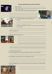 The Bucket List Questionnaire
