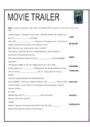 English Worksheet: Sherlock Holmes Movie Trailer and DVD Listenings