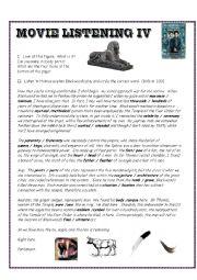 english worksheets listening exercises worksheets page 116. Black Bedroom Furniture Sets. Home Design Ideas