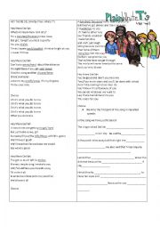 English Worksheet: Hey There Delilah by Plain White T�s