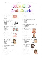 2nd Grade Mid Term