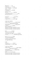 English Worksheet: Fame - I´m Gonna Live Forever - Song