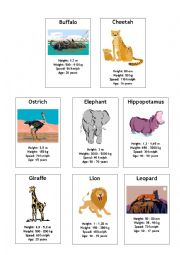English Worksheet: Comparative and superlative game (part 2)