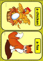 Farm animals flashcards PART 2