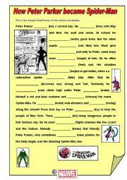 Past Simple: The Origin of Spider-Man