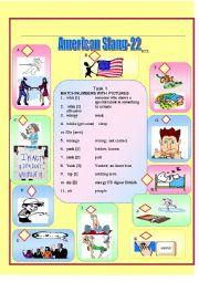 English Worksheet: American Slang-22