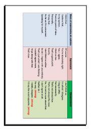 English Worksheet: Way of Expressing opinion