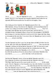 movie worksheet: Alvin and the Chipmunks 1