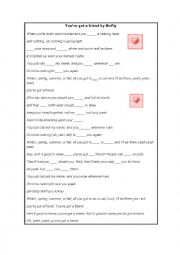 English Worksheet: You´ve Got a Friend by McFly