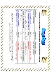 English Worksheet: Street Child - Making Complex Sentences