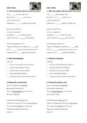 English Worksheet: One Direction - What makes you beautiful