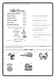 past simple reading comprehension pdf
