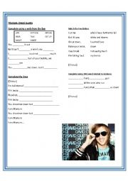 English Worksheet: Titanium- David Guetta