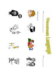 Classroom Language - Let´s speak English!