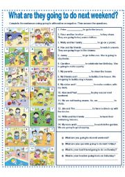 English Worksheet: GOING TO EXERCISE