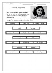 English worksheets: holocaust worksheets, page 3
