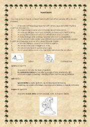 English Worksheet: Desert island - oral activity