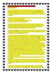 English Worksheet: SHORT STORY