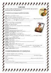 English Worksheet: LIAR LIAR