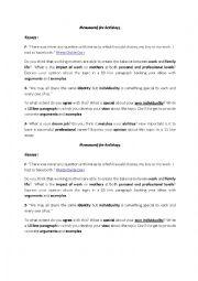 Esl essay topics intermediate