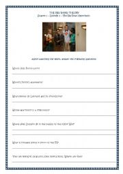 English Worksheet: The Big Bang Theory - Season 1 - Episode 2