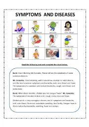 Diseases and symptoms