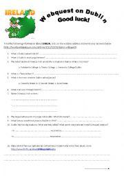 Dublin Webquest