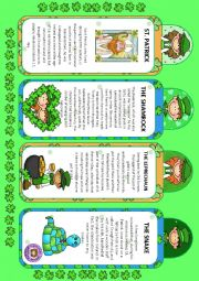 ST. PATRICK´S - BOOKMARKS