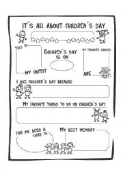 It´s all about children´s day