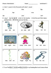 and+Igh+Words phonics worksheet 3 i i e ie igh ild practice of phonics ...