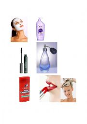 English Worksheet: Cosmetics and Directions of Usage