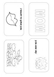 English Worksheet: Story book - mother´s day