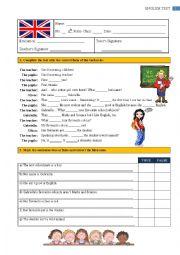 Test - 6th Grade