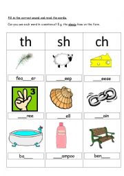 ch sh and th Digraphs