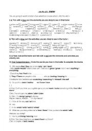 Into the wild trailer worksheet