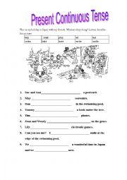 English Worksheet: holiday in japan