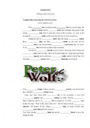 English Worksheet: Telling a story