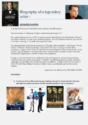Biography Leonardo Di Caprio
