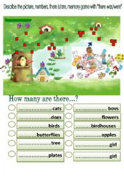 English Worksheet: Describe the picture using