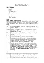 English Worksheet: Play