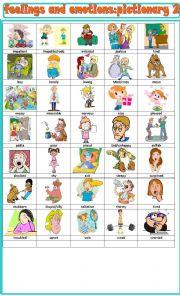 Emotions worksheet pdf