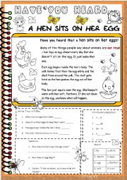 Have you heard  -   Animals set  Hens.(4)