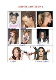 HAIRSTYLES Pictionary 3