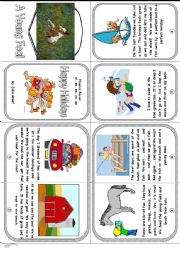 English Worksheet: Phonics Mini Book 17. Long Vowel Sounds: ai, ee, ea, oa, ue Happy Holidays