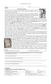 English Worksheet: NEW HEADWAY INTERMEDIATE UNITS 7-8