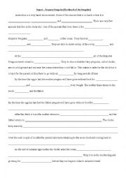English Worksheet: The March of the Penguins